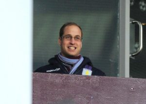 prince william aston villa park