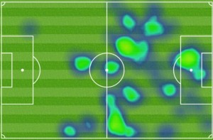 bebatov heat map fulham