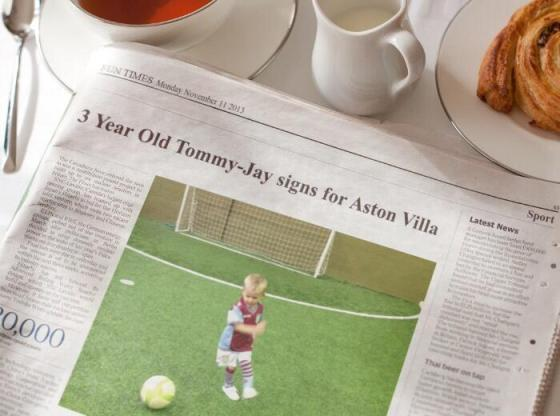 aston villa new talent