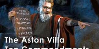 villa ten commandments