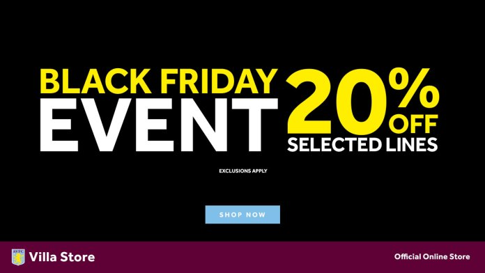 Aston Villa Black Friday