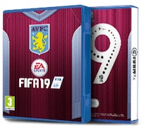 Aston Villa FIFA 19 Cover Pack