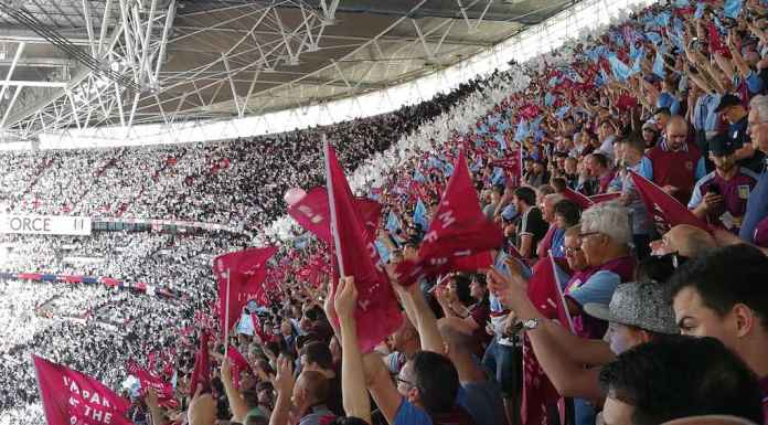aston villa fans wembley play-off final vs fulham 2018