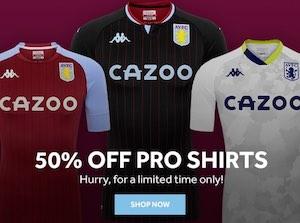 Aston Villa Pro Shirt Sale