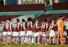 Aston Villa Youth FA Cup players