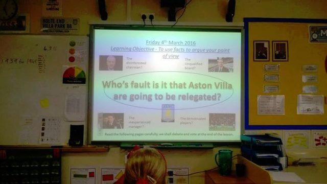 aston villa blame