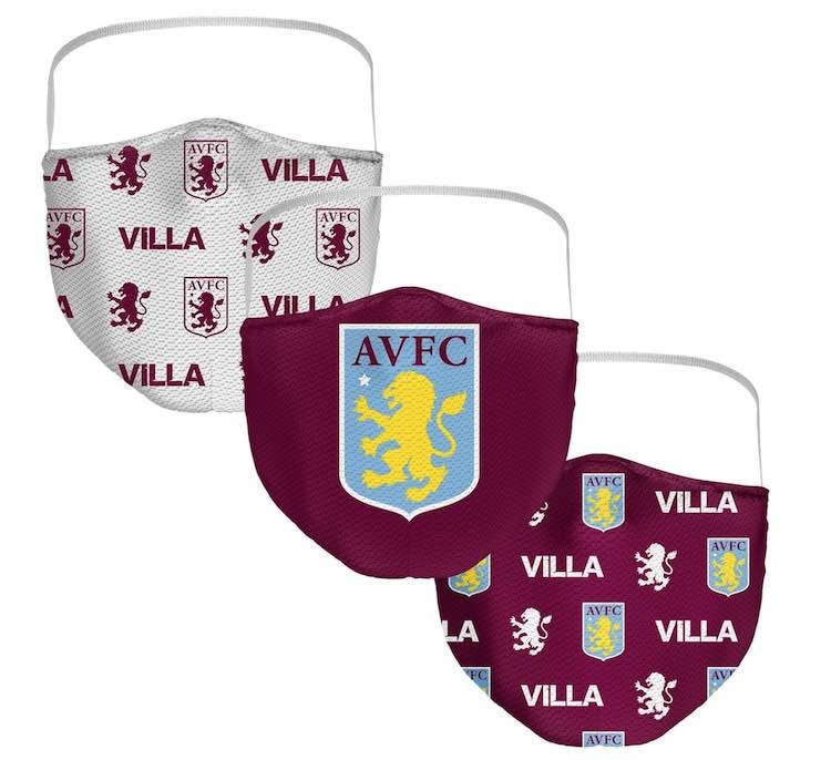 Aston Villa masks