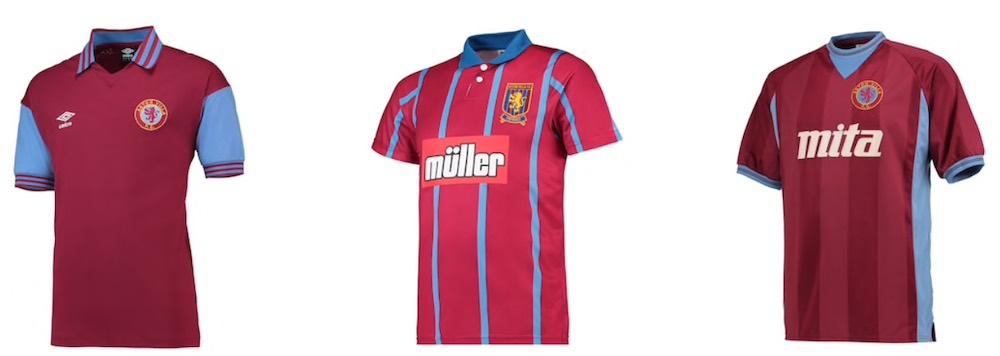 Aston Villa Retro Shirt sale