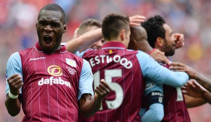 Christian Benteke Wembley goal