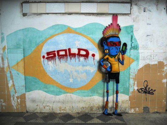 brazil sold out graffiti