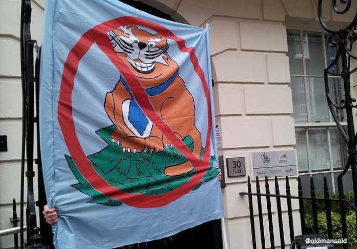 Brigada 'Fat Cat' Banner