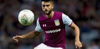 Easah Suliman Grimsby loan Aston Villa