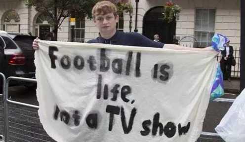 Price Protest Premier League Office