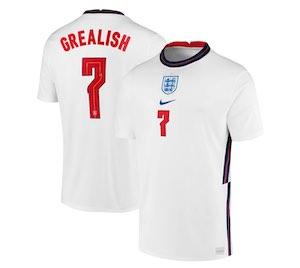 Jack Grealish England Shirt