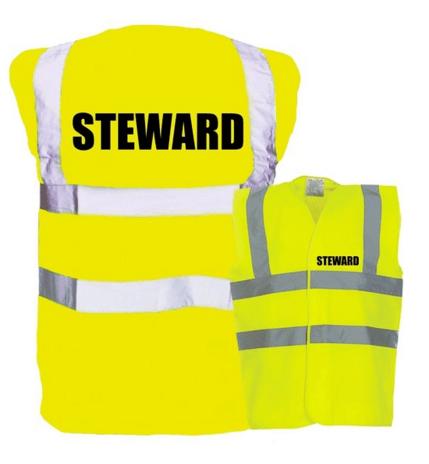 HI-Vis Villa Park steward