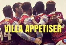 the villa appetiser