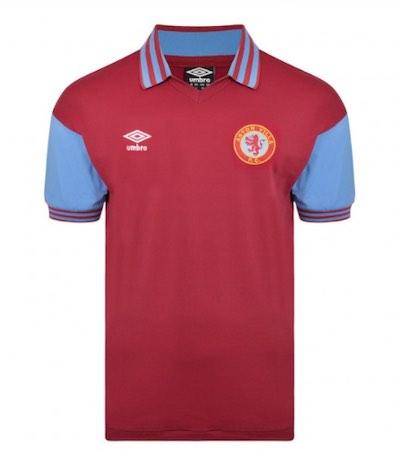 Aston Villa umbro shirt 1981