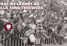 WHAT WE LEARNT AS VILLA FANS