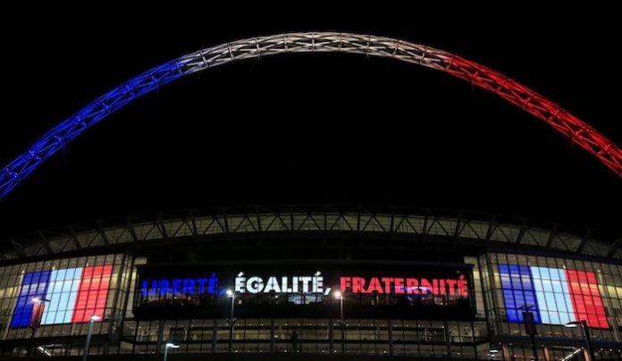wembley stadium french colours