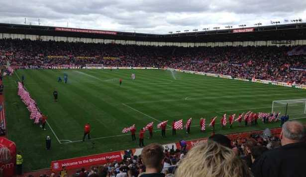 aston villa away fans at stoke
