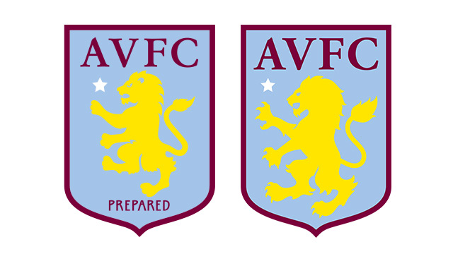New Aston Villa badge