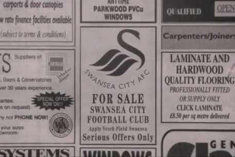 swansea city for sale advert