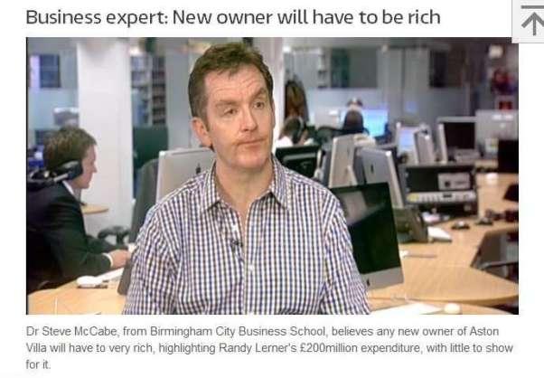 aston villa takeover expert