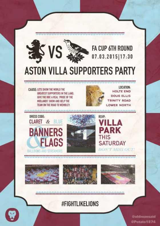 Aston Villa Supporter Party