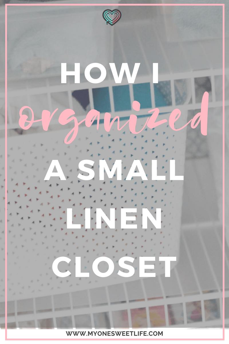 Linen Closet Organization 3 Tips To Help You Organize Your