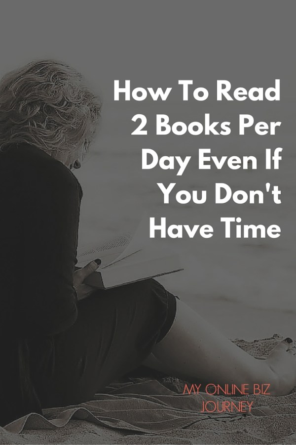 How To Read 2 Books Per Day Even If You Don't have Time