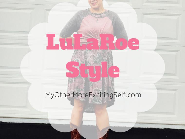 LuLaRoe Style via MyOtherMoreExcitingSelf.com