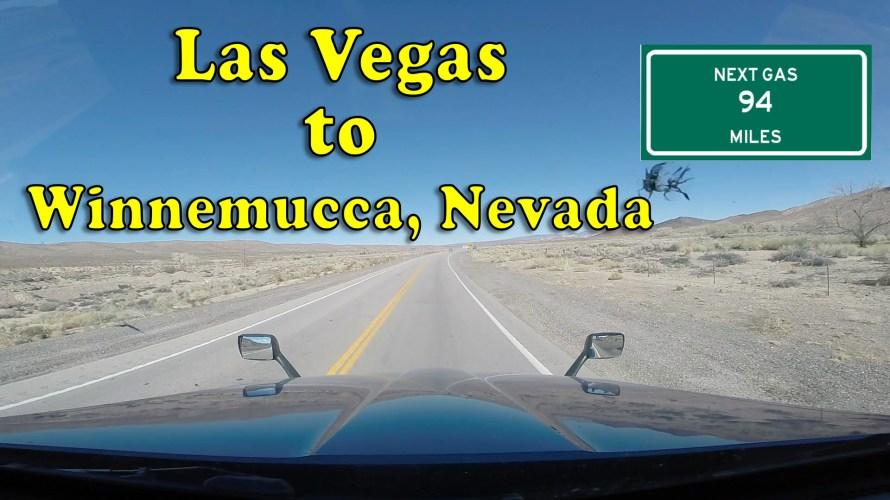 Las Vegas to Winnemucca, Nevada