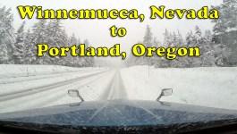 Winnemucca, NV to Portland, OR [Video]