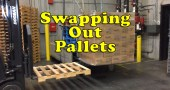 Forklift Operator Swapping out Pallets Before Loading my Truck [Video]