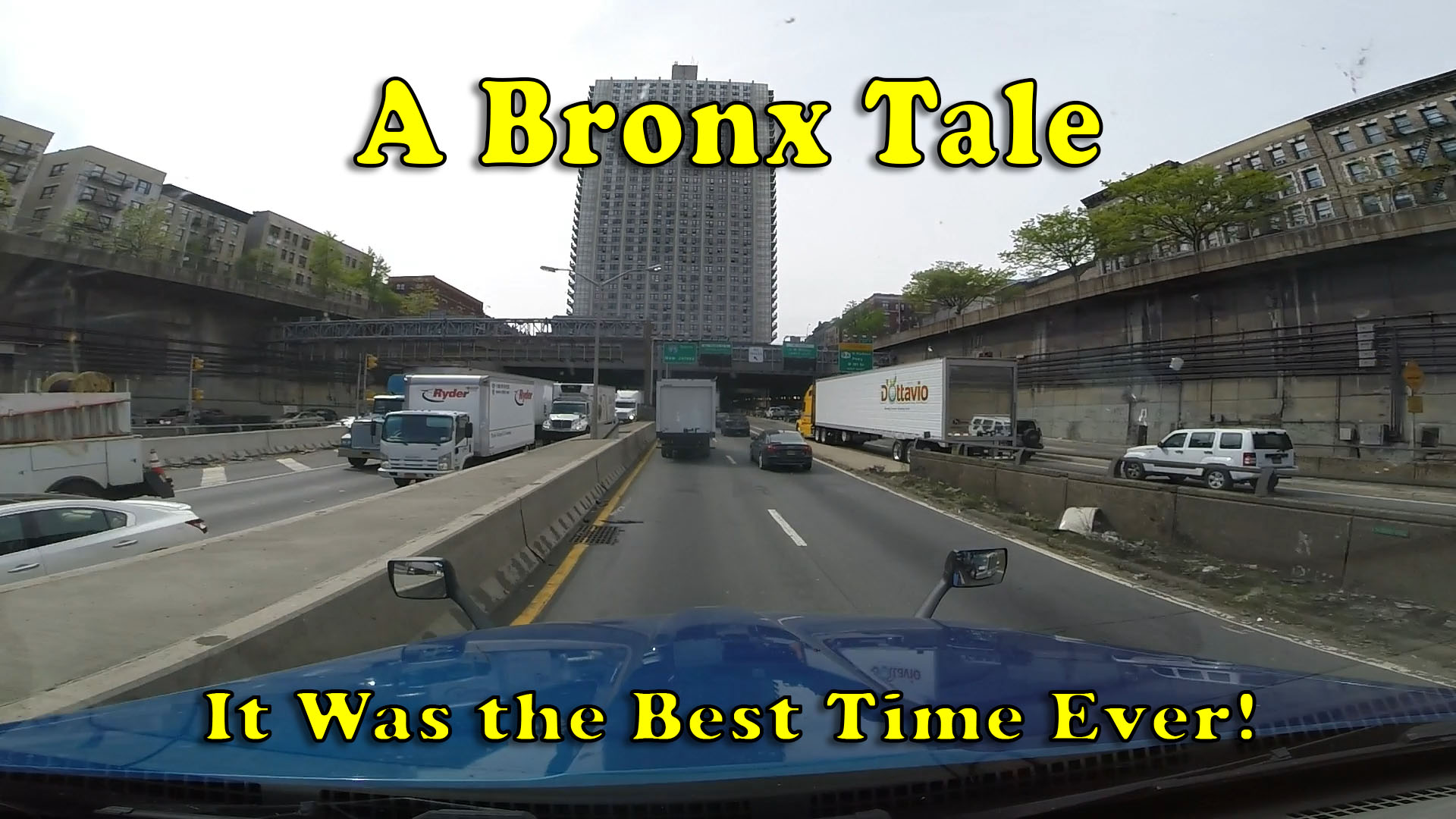 Driving The Cross Bronx Expressway and George Washington
