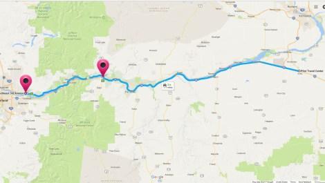 Hermiston to Camas Route Part 2