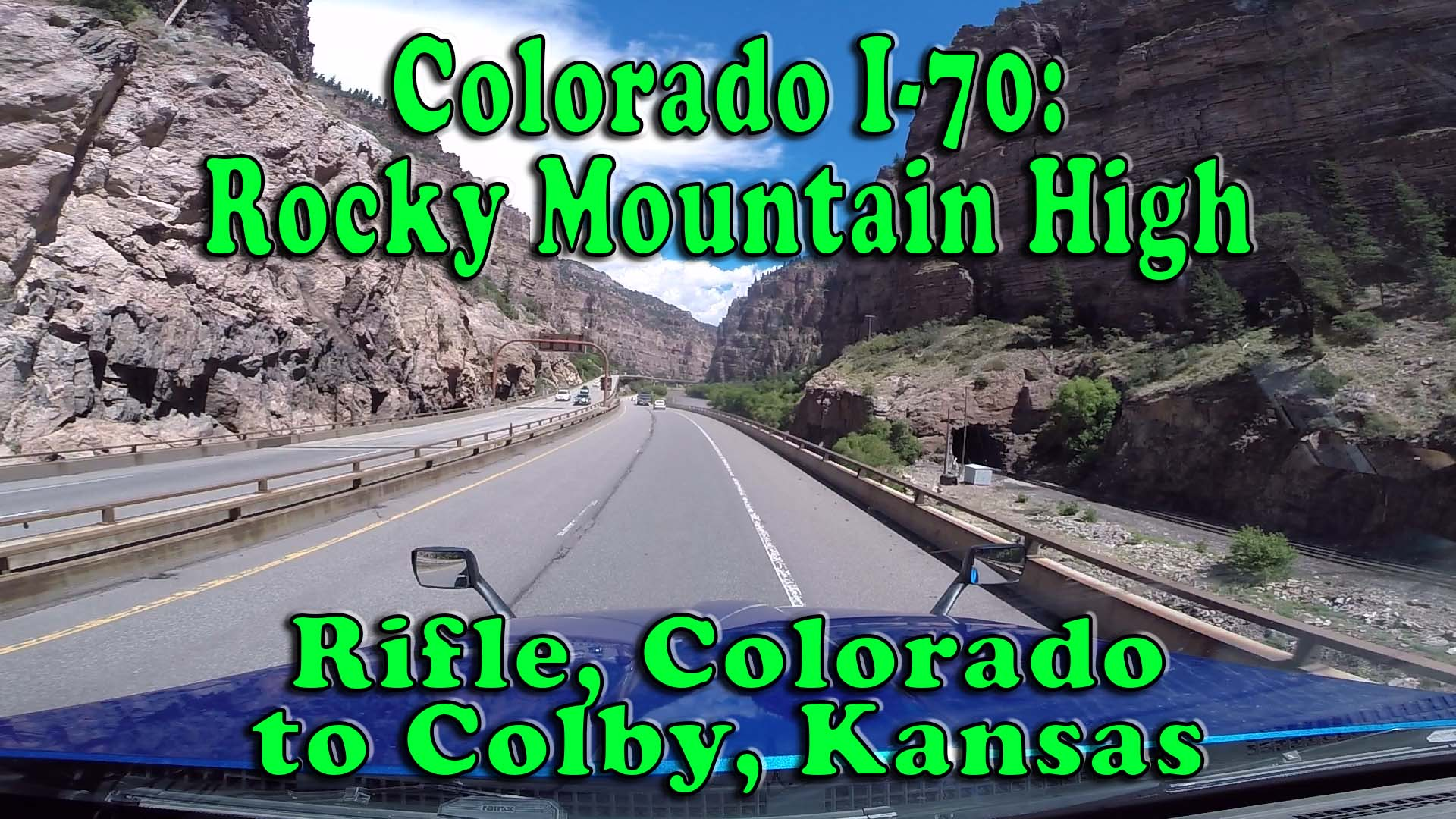Interstate Trucking Reviews >> Colorado I-70: Rocky Mountain High - Rifle, CO to Colby ...