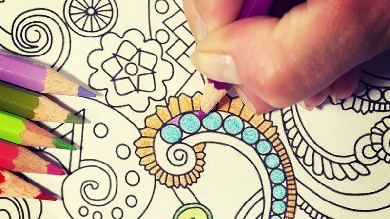 coloring-stress-reduction