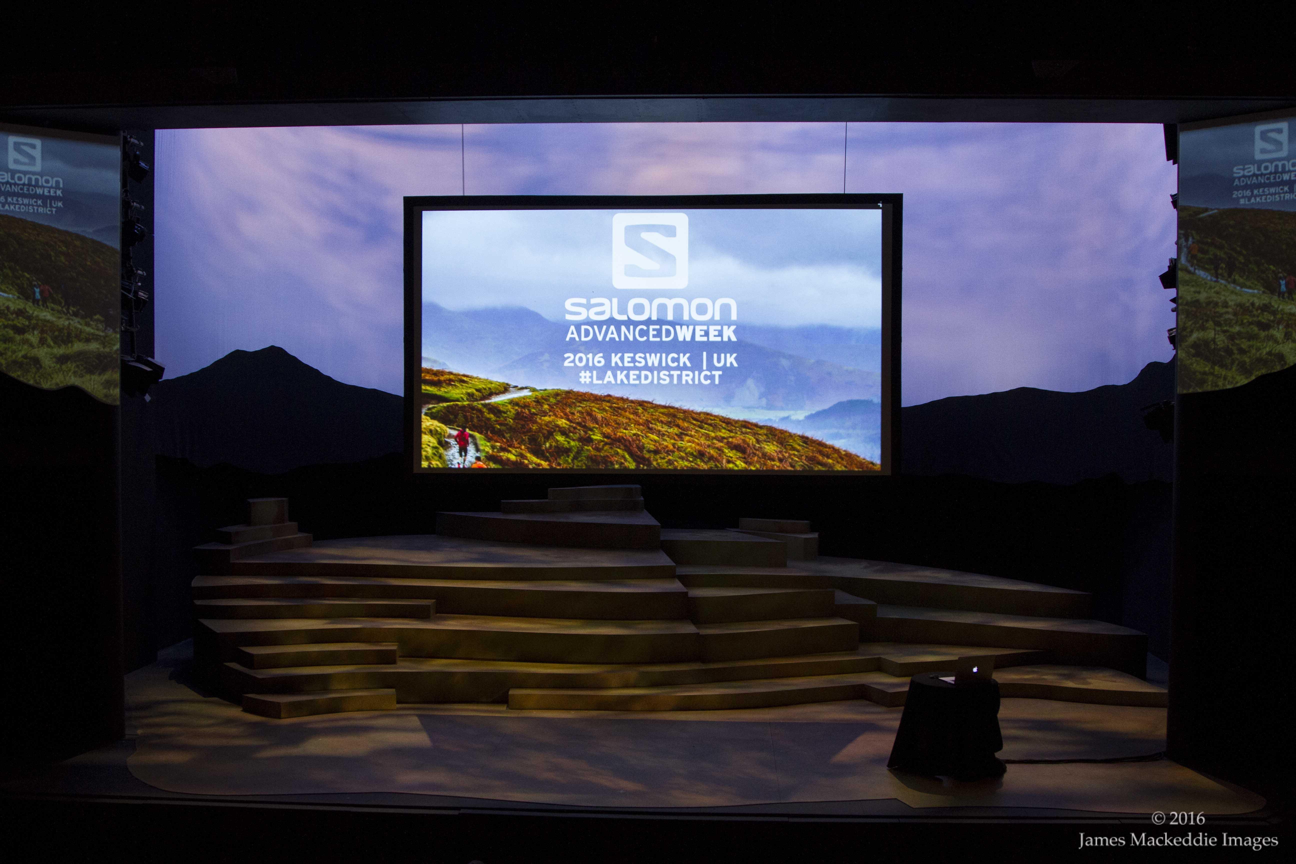 Salomon Advanced Week theatre empty