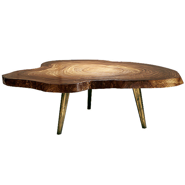 nature shape coffee table with three legs 6cm