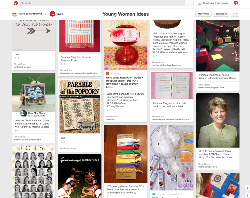 Young Women Pinterest Board | A Resource of Good Young Women Ideas | My Own Brand Of Happy