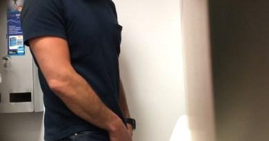 spy cam guys caught pissing in urinals