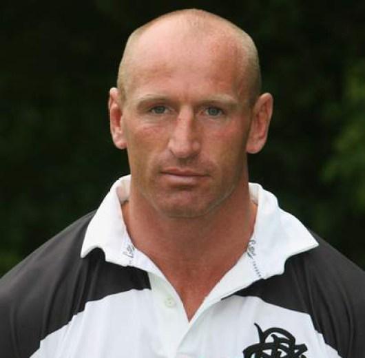 rugby player- gareth thomas-
