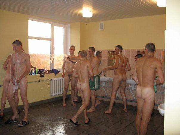 military hunks naked in locker room