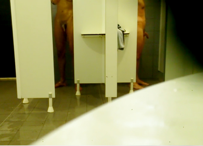 big cocks in showers