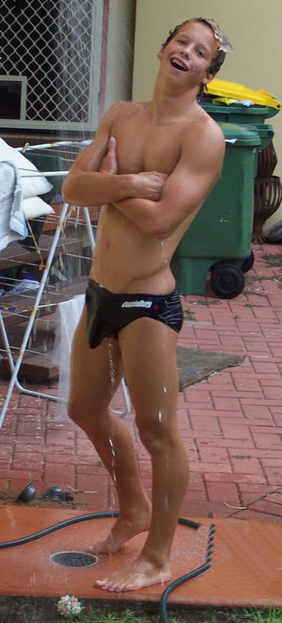 swimmer big bulge