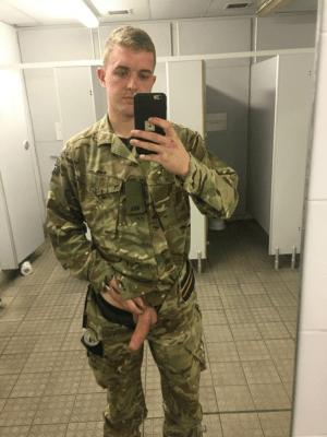military-guy-flashing-big-cock