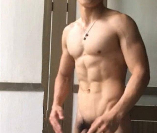 Asian Guy Dick In Locker Room