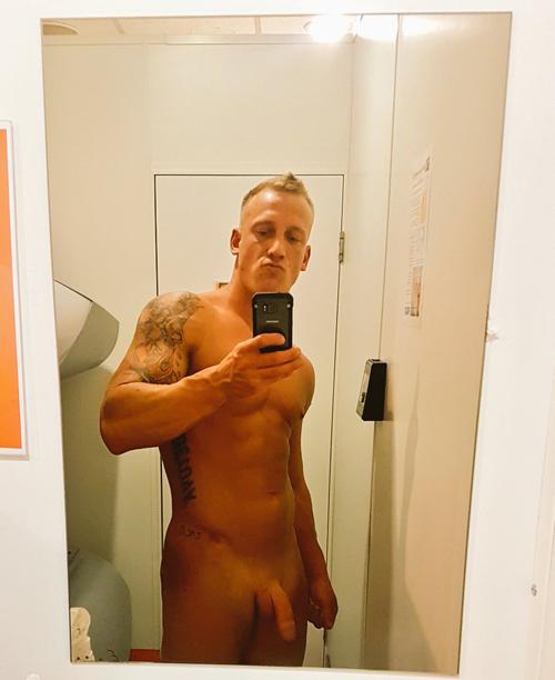 hottie-showing-dick-in-sauna