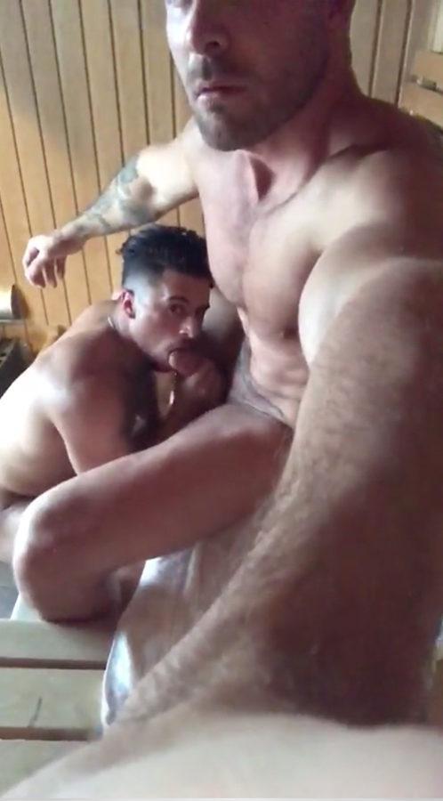 sucking-daddy-cock-in-sauna